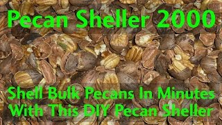 Shell bulk pecans in minutes with this Automatic Pecan SHeller