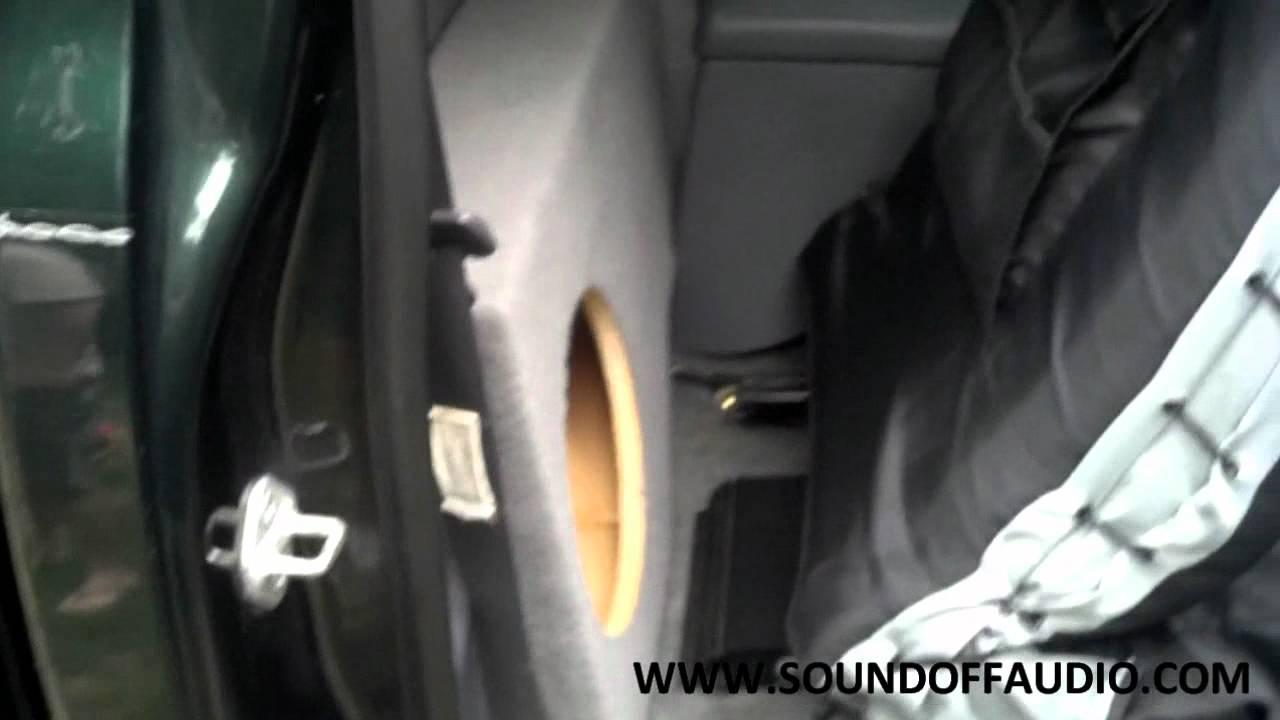 1997 toyota tacoma speaker size
