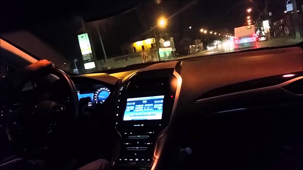 maxresdefault 2013 lincoln mkz night drive youtube  at n-0.co