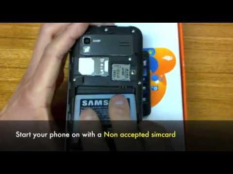 Unlock Samsung B7610 OmniaPRO
