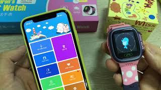 Trên tay đồng hồ thông minh Kids smart watch đẹp và dễ sử dụng