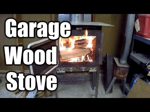 How To Heat Your Garage Workshop 1 | THE HANDYMAN |