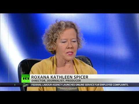 Candian filmmaker Roxana Spicer came to Moscow
