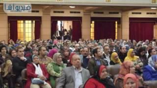 بالفيديو : مؤتمر استراتيجية التنمية المستدامة رؤية مصر 2030 بجامعة القاهرة