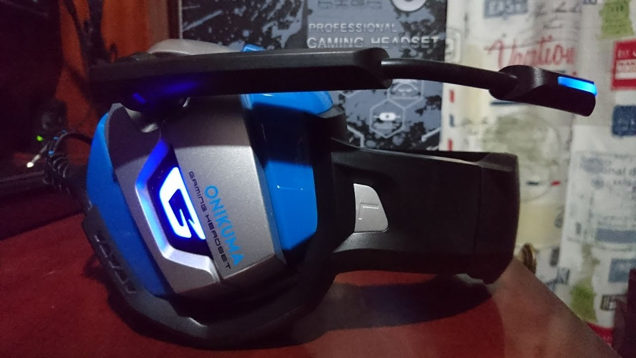 Review: Onikuma K5 Auriculares Gaming LED PC PS4 XBOX