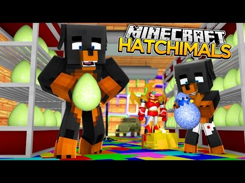 Minecraft HATCHIMALS - DONUT SEARCHES EVERYHWERE FOR HATCHIMALS - donut the dog minecraft roleplay
