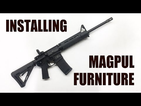 Installing Magpul Furniture On An AR-15
