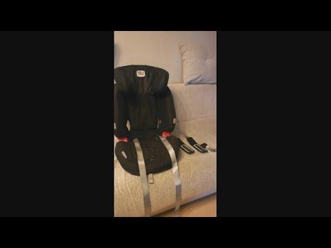 как одеть ремни на детское автокресло после стирки чехлов