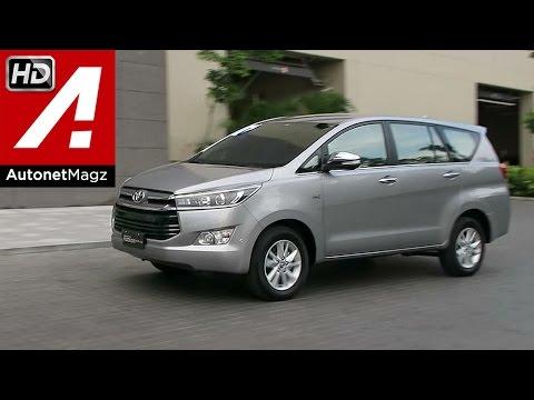 All New Kijang Innova Bekas Fitur Alphard First Impression Review Toyota 2015 Youtube