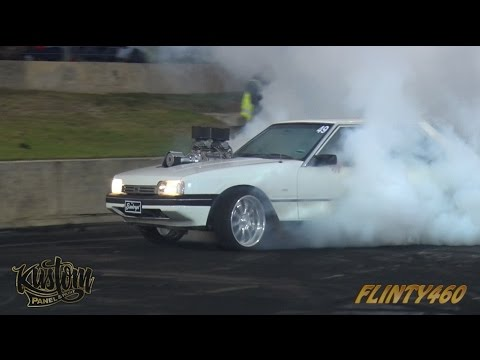 "BLOWN XF FALCON ""BANKRUPT"" AT BURNOUT BLITZ"