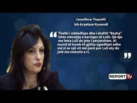 Report TV - Statuti i ri/ Topalli: E premte e zezë! Luli me letra i përjetshëm, PD duhet të ribëhet
