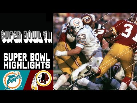 Super Bowl VII Recap: Dolphins vs. Redskins | NFL
