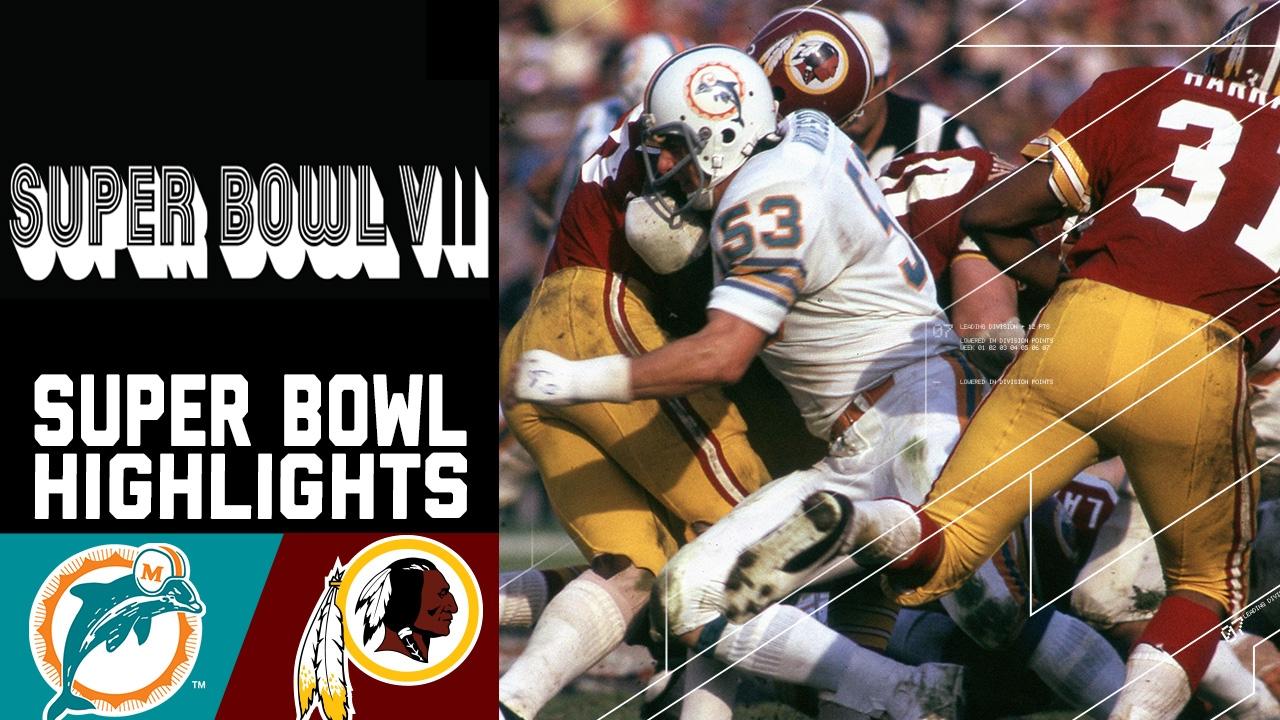 Super Bowl VII Recap: Dolphins vs. Redskins   NFL - YouTube