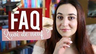 JE RÉPONDS À VOS QUESTIONS ! | Myriam 📖 Un Jour. Un Livre.