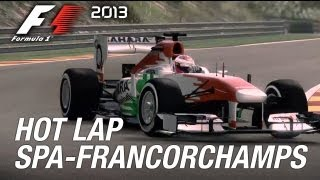 F1 2013 - PS3/X360/PC - Spa-Francorchamps Hot Lap (Gameplay Italian)