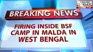 One jawan killed, four injured in firing incident inside BSF camp in Malda