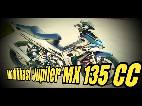 Modifikasi Jupiter MX 135 | Exciter 135 | Jupiter MX 135 Modif Simple | 2018