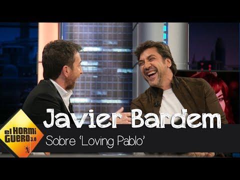 """Javier Bardem: """"En 'Loving Pablo' el viaje más heavy lo hace Penélope Cruz"""" - El Hormiguero 3.0"""