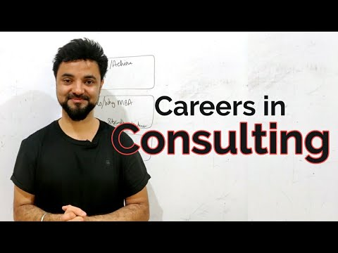 MBA in Consulting! Most Aspired Stream in MBA.