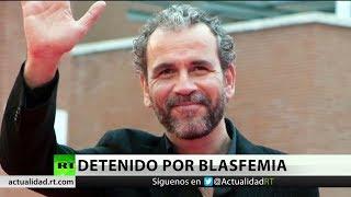 Ordenan detener al actor Willy Toledo al no declarar en un juicio por insultar a Dios en España