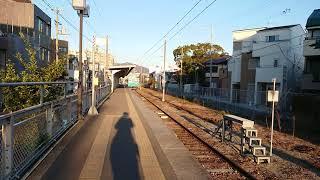103系(和田岬線普通列車6B)525M  和田岬駅到着