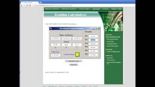 Fibonacci Dynamic Trading Calculator - FREE