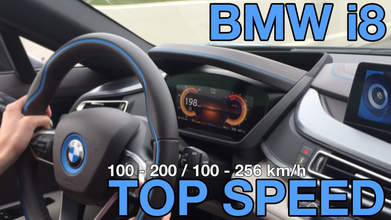 Awesome BMW I8 Top Speed 100   256 HARD Acceleration V MAX   YouTube