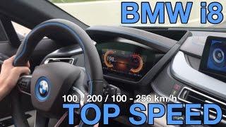 bmw i8 top speed 100 256 hard acceleration v max