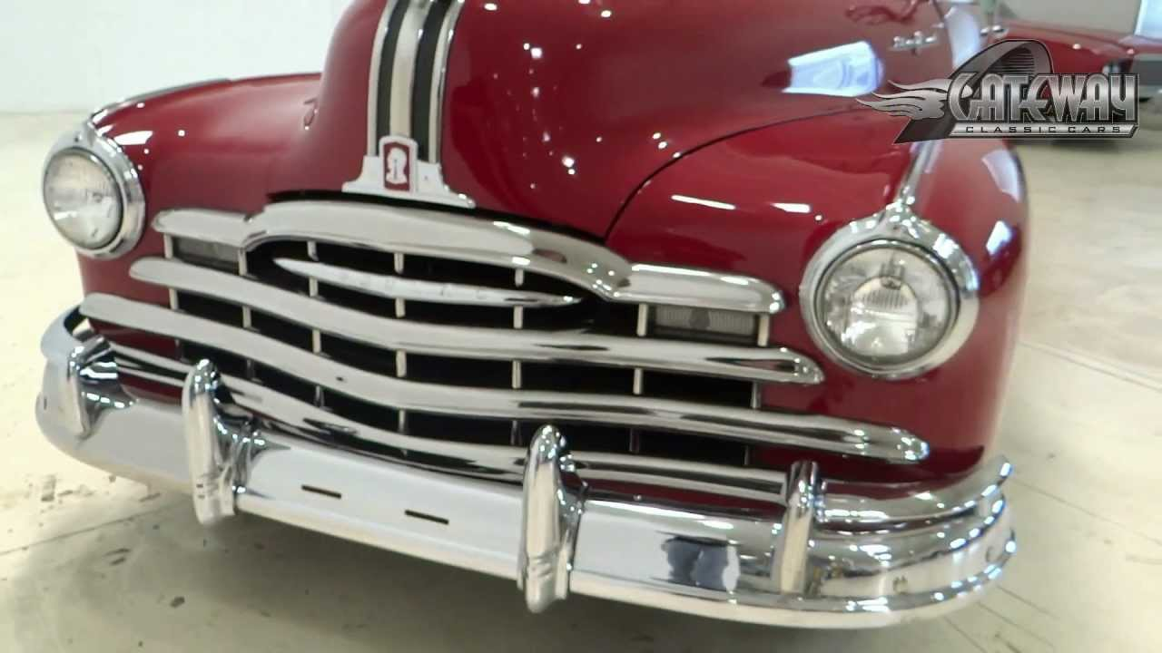 1948 Pontiac Silver Streak Convertible Youtube