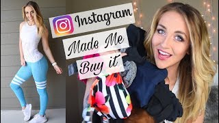 Instagram Made Me Buy It FITNESS Edition // Senita, Bombshell, RedOlive, Relentless, and more