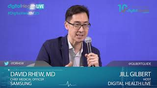 Interview David Rhew/Samsung - Digital Health Summit Live Studio - #CES2019 #DHS19