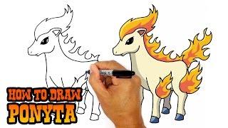 How to Draw Ponyta | Pokemon