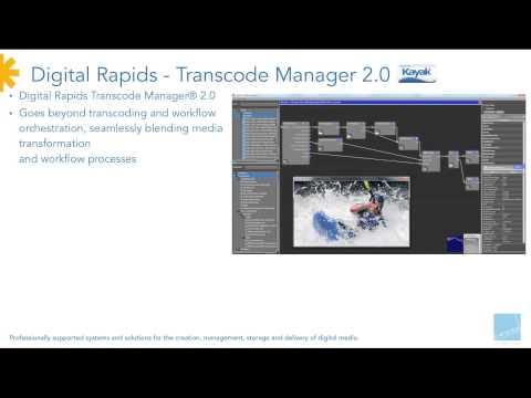 6) Workflow Automation / High Speed Data Transfer - Digistor Post-NAB Webinar