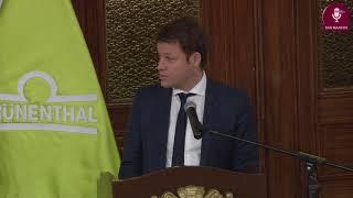 Tema:Firma de convenio entre la UNMSM y Grunenthal Peruana