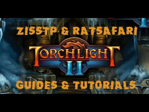 Torchlight 2 Tutorial/Guide with Ziss - Engineer Tank Build for Hardcore