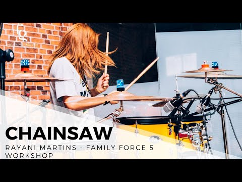 Workshop Rayani Martins - Pista de Skate - Family Force 5 - Chainsaw