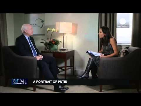 """McCain on Putin: """"He's an old KGB aperachik who wants to restore the Russian Empire"""""""