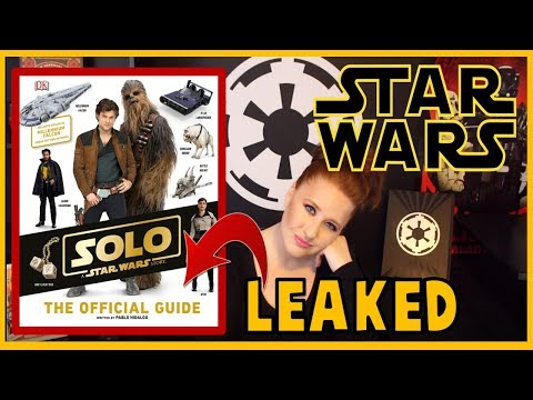 Han Solo Official Guide BOOK Leaked Info
