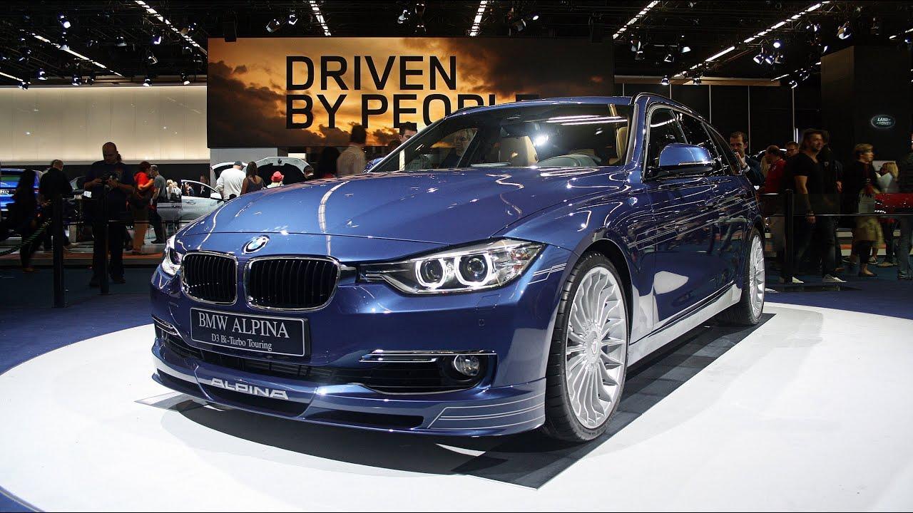 WORLD DEBUT: 2014 BMW ALPINA D3 BiTurbo Touring - IAA Frankfurt 2013 ...