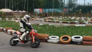 supermoto pitbike ycf sp3 190 my first workout