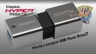 Kingston HyperX Predator 3.0 - Worlds Largest Capacity USB Flash Drive!