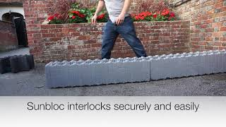 ICF Construction- Using Sunbloc ICF and V-Tec Beam and block Flooring