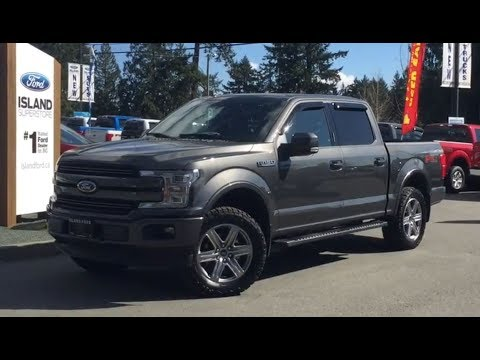 2018 Ford F 150 Xlt >> 2018 Ford F-150 Leveled Lariat FX4 Sport 502A V6 Supercrew Review| Island Ford - YouTube