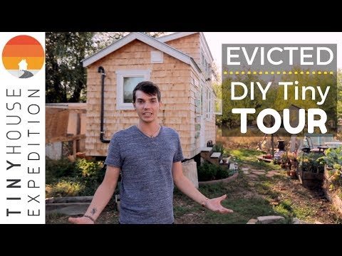 College Student's Beautiful Tiny House Gets Evicted from Boulder Backyard