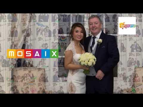 Mosaix - niezwykła atrakcja zdjęciowa na wesele