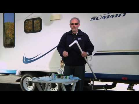 Build an RV Holding Tank Flush Wand
