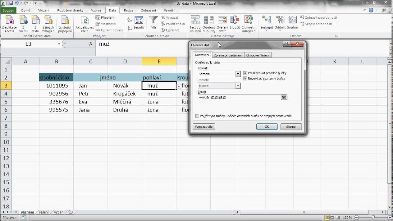 Tipy A Triky Pro Ms Excel