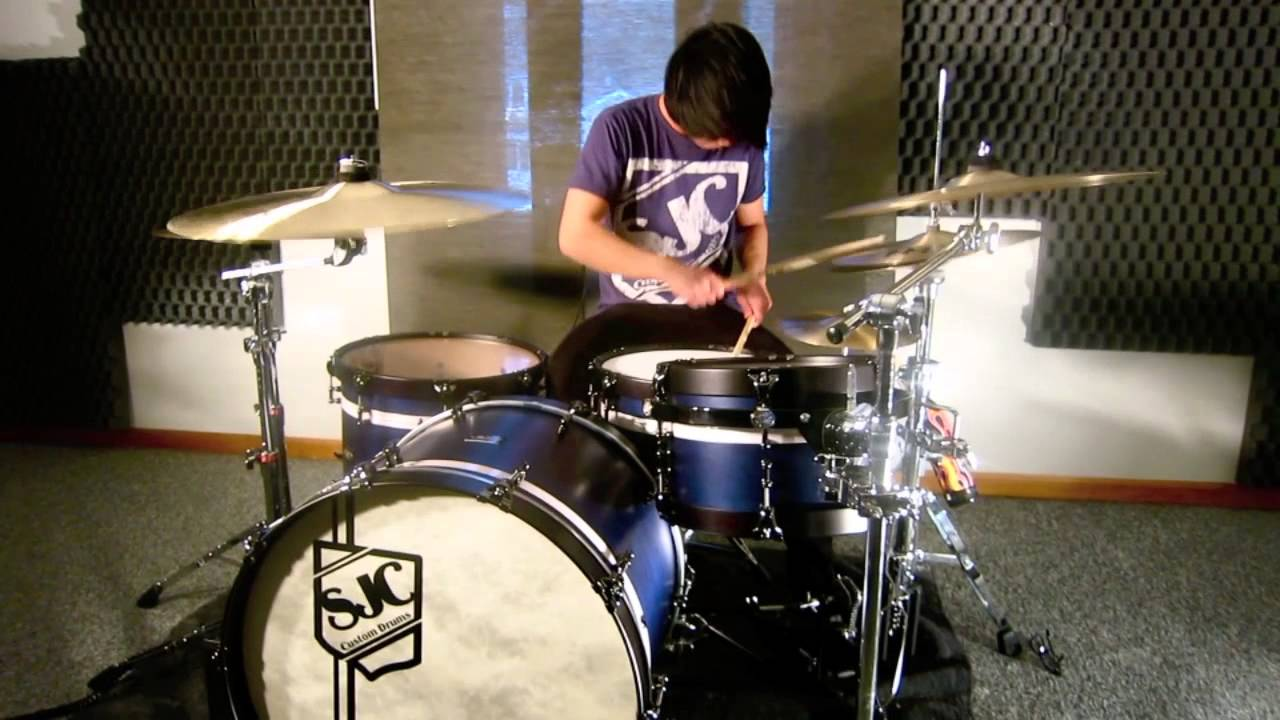 Bring Me The Horizon - Blessed With A Curse (Drum Cover) - YouTube
