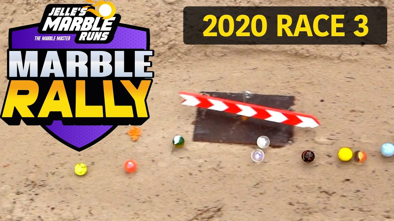 Who will win? Marble Rally 2020 Race 3