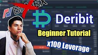 Bitmex Killer!! / Deribit Tutorial for Beginners